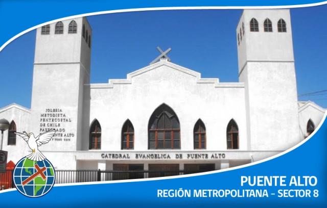 Iglesia Metodista Pentecostal de Chile, Catedral Evangelica, Puente Alto