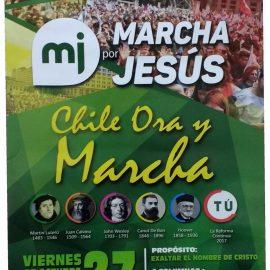 Eventos Marcha por Jesús Chile 2017