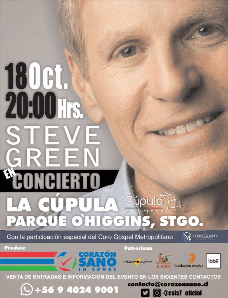 Steve Green en Chile 2017