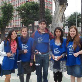 Fotos Voluntarios Colecta Fundación Bíblica 2016